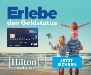 Hilton Honors Kreditkarte (ohne Giro)
