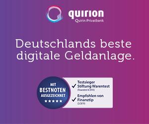 Quirion - der RoboAdvisor der Quirin Bank im Detail vorgestellt