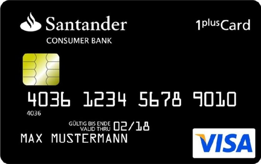Santander Consumer Bank Santander 1plus Visa Card