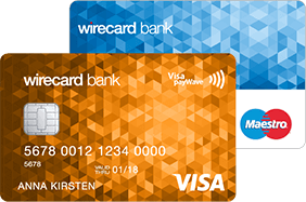 wirecard bank wirecard bank Visa Karte