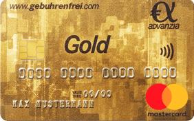 Advanzia Bank Gebührenfrei MasterCard GOLD