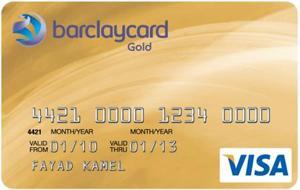 Barclaycard Barclaycard Gold Visa