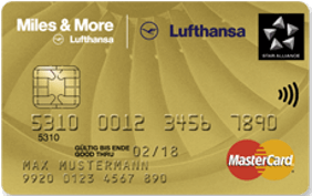 Miles & More Kreditkarten Miles & More Credit Card Gold Plus