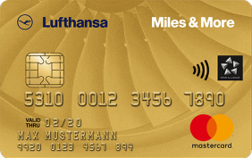 Miles & More Kreditkarten Miles & More Gold Credit Card