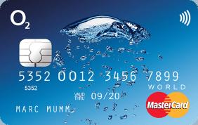 o2 Banking o2 Mastercard