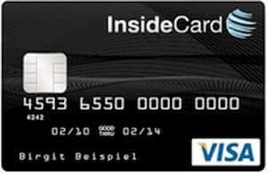 Payango Prepaid Visa Card der LBBW PAYANGO InsideCard Prepaid