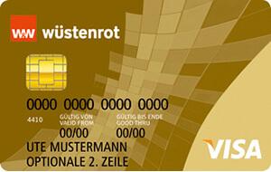 Wüstenrot Wüstenrot direct Visa Prepaid Gold