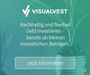 VisualVest - nachhaltige Geldanlage
