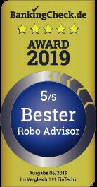 VisualVest - bester Robo-Advisor / Bankingcheck